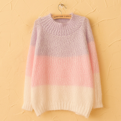 Harajuku Hippocampal Spell Color Knit Sweater